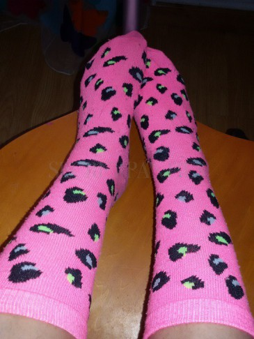 calcetines leopardo lolita pin up